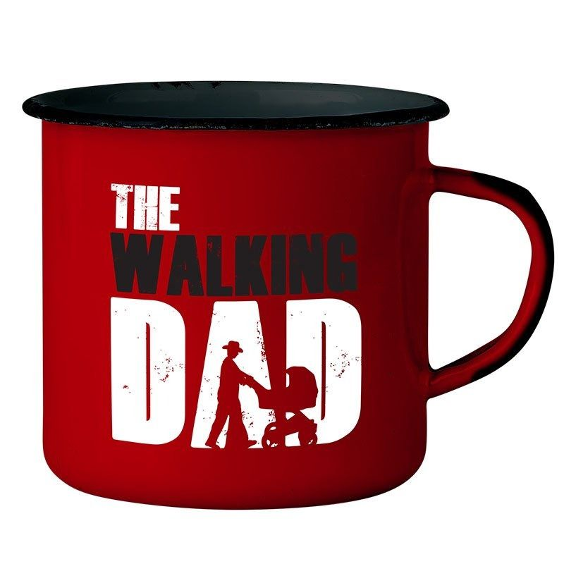 Caneca Esmaltada The Walking Dad