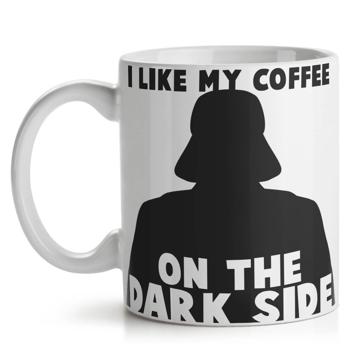 Caneca Geek Side - Dark Side Coffee