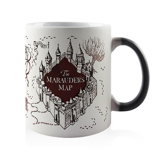 Caneca Magica - Harry Potter - Mapa do Maroto