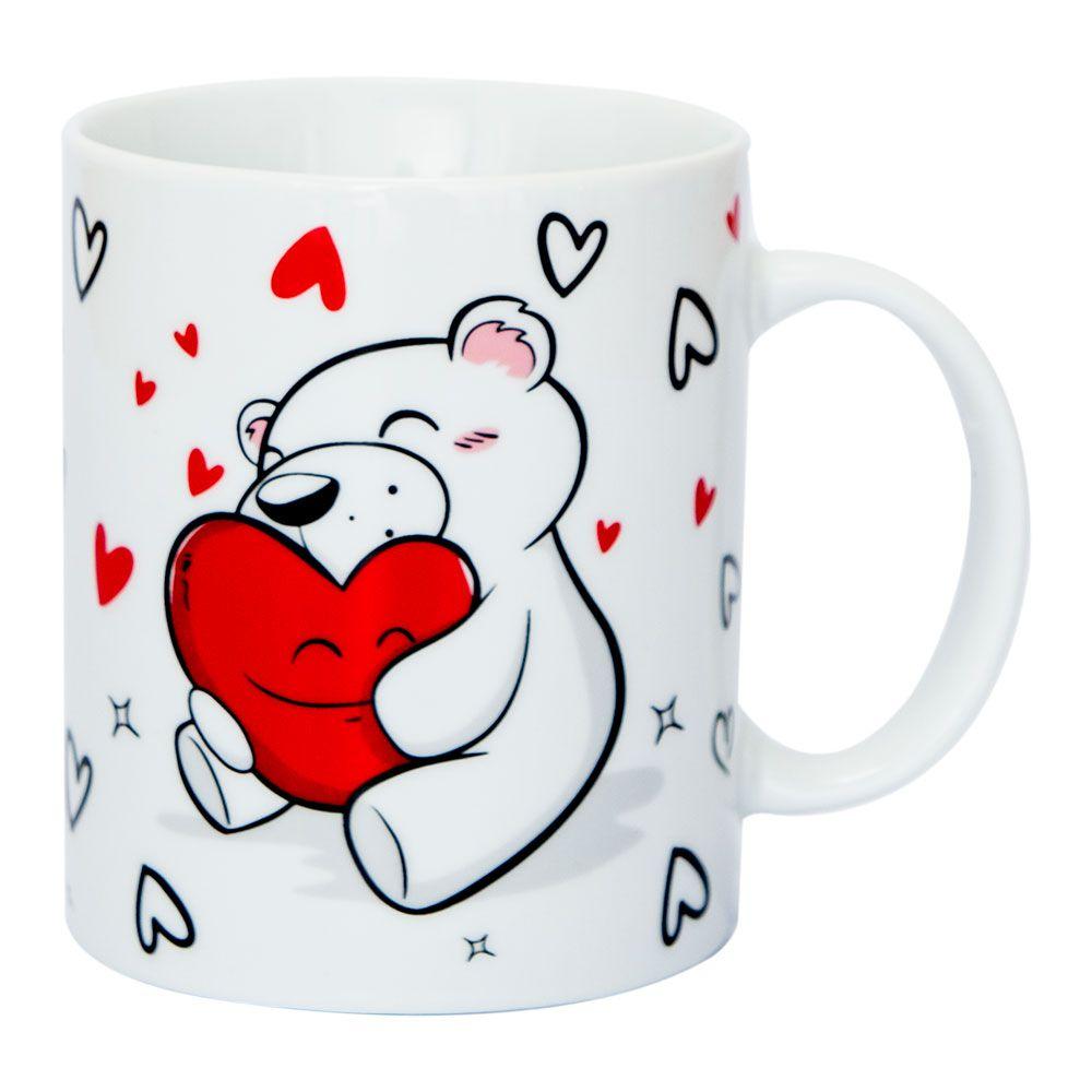 Caneca urso - abraço feliz