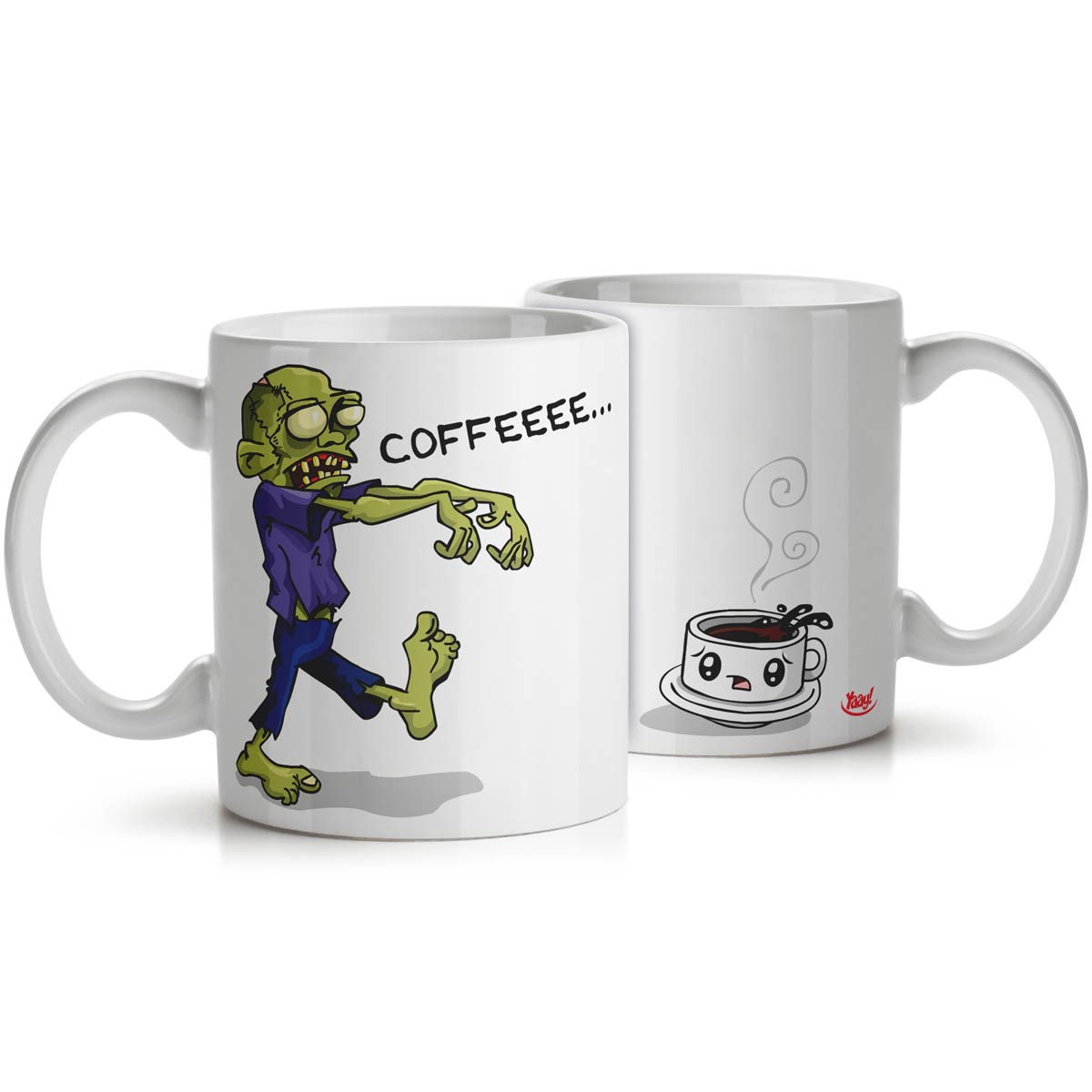 Caneca Zombie Wants Coffee
