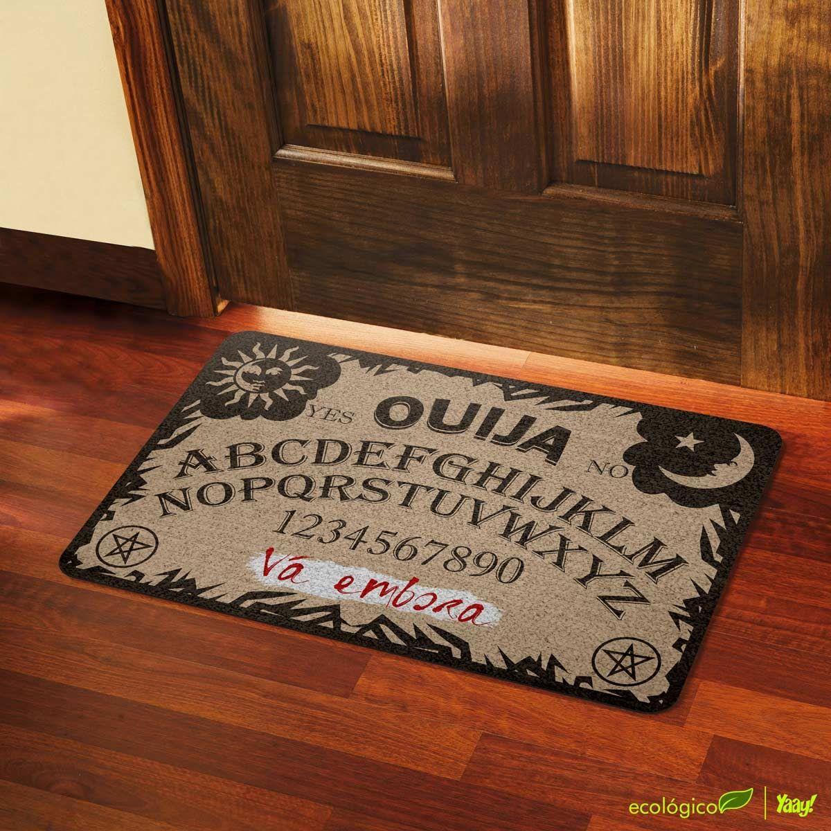 Capacho Ecológico Tabuleiro Ouija Vá embora