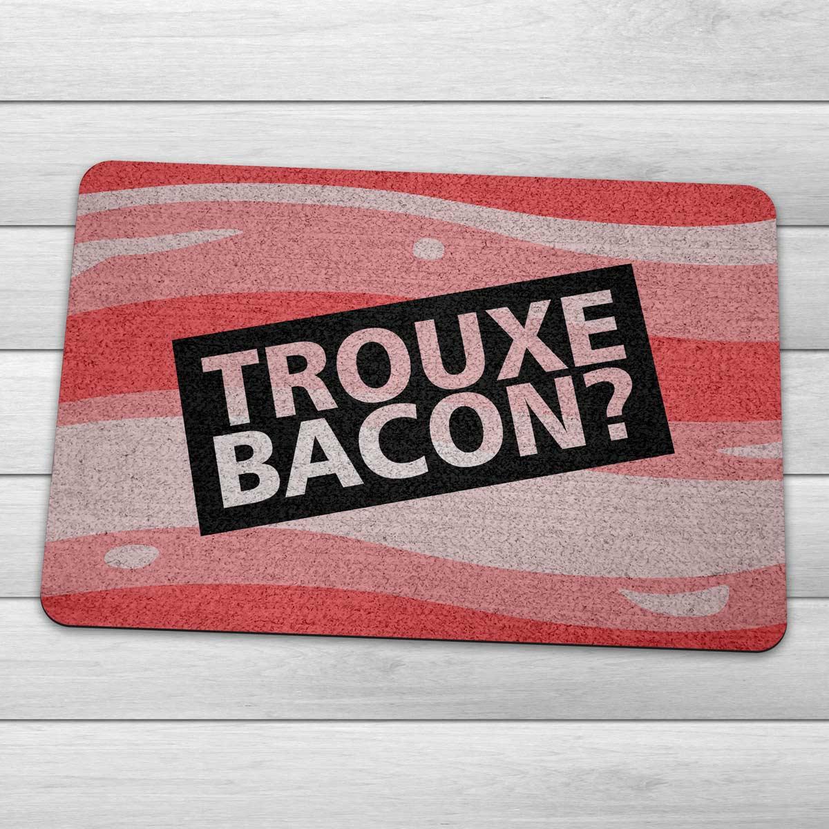 Capacho Ecológico Trouxe Bacon