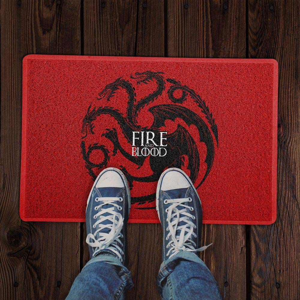 Capacho FIRE AND BLOOD 60x40cm