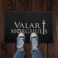 Capacho VALAR MORGHULIS -  60x40cm