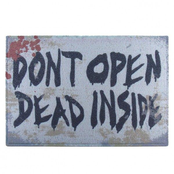 Capacho Vinil - Dont Open Dead Inside