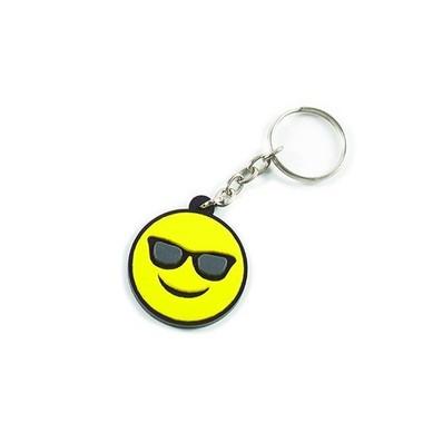 Chaveiro Emoji Óculos de Sol