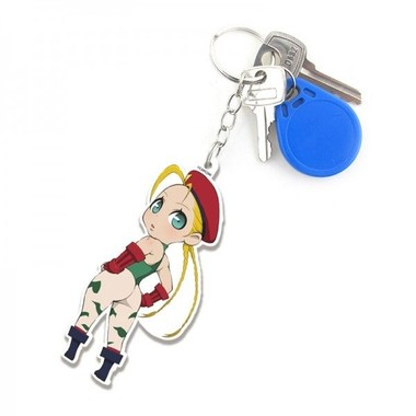 Chaveiro Street Fighter Cammy Cute