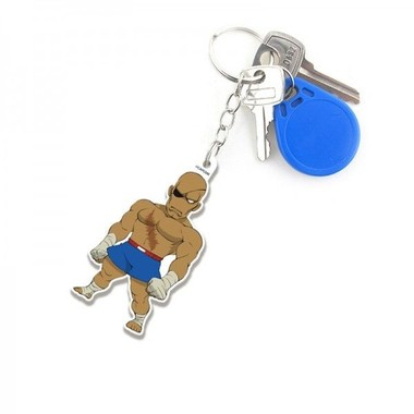 Chaveiro Street Fighter Sagat Cute
