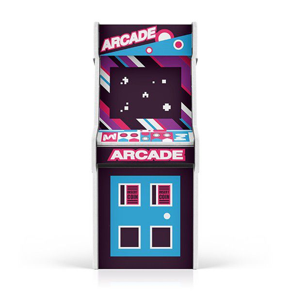 Cofre Arcade Asteroid