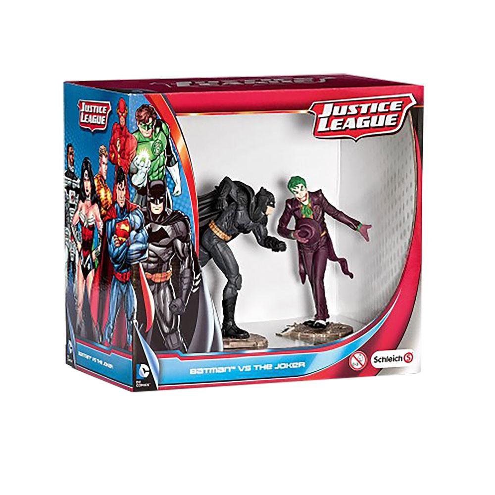 Estatueta BATMAN VS CORINGA DC Comics - Schleich