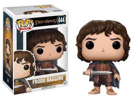 Frodo Baggins - Lord of The Rings Funko Pop (Caixa Amassada)