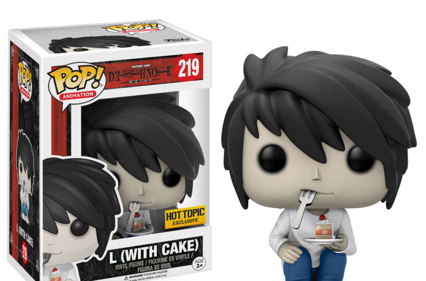 Funko POP Death Note Animation L (with Cake) Exclusive
