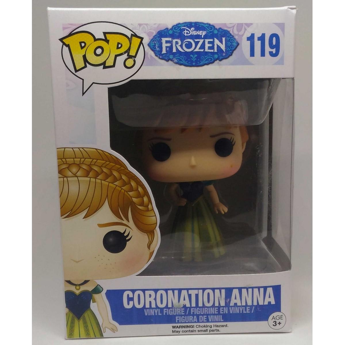 Funko POP! DISNEY: FROZEN -ANNA CORONATION (Caixa Amassada)