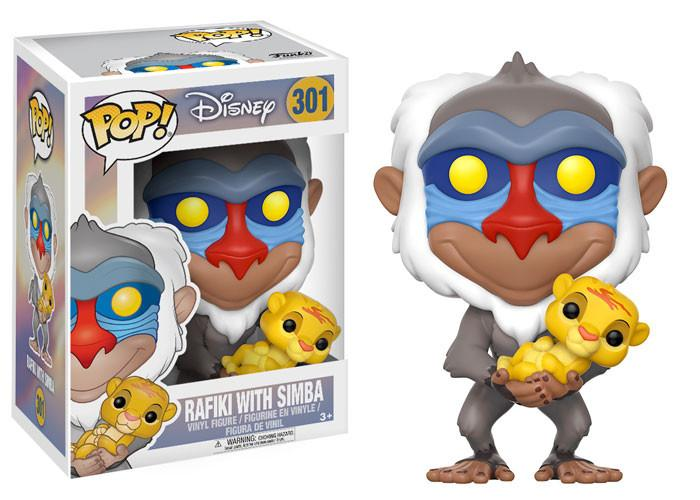 Funko POP - Disney - Rafiki With Simba
