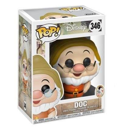 Funko POP Disney Snow White Mestre DOC