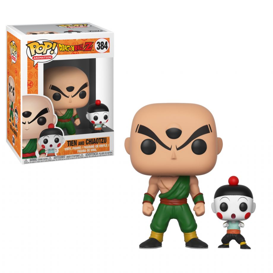 Funko POP DRAGON BALL Z- TIEN AND CHIAOTZU