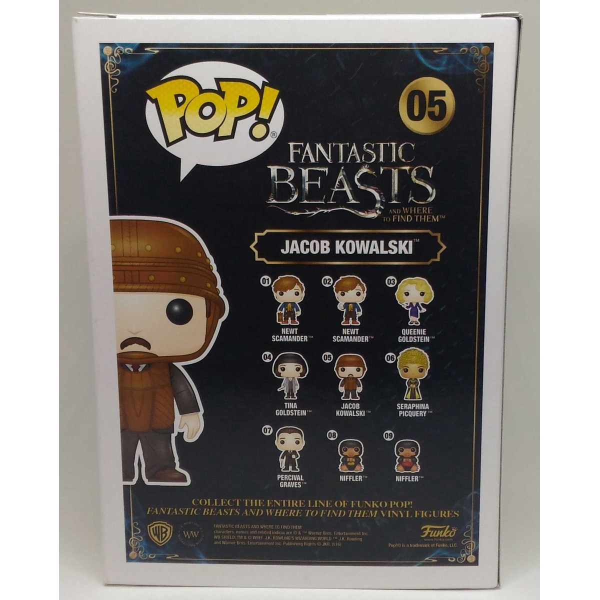 Funko POP Fantastic Beasts - Jacob Kowalski (Caixa Amassada)