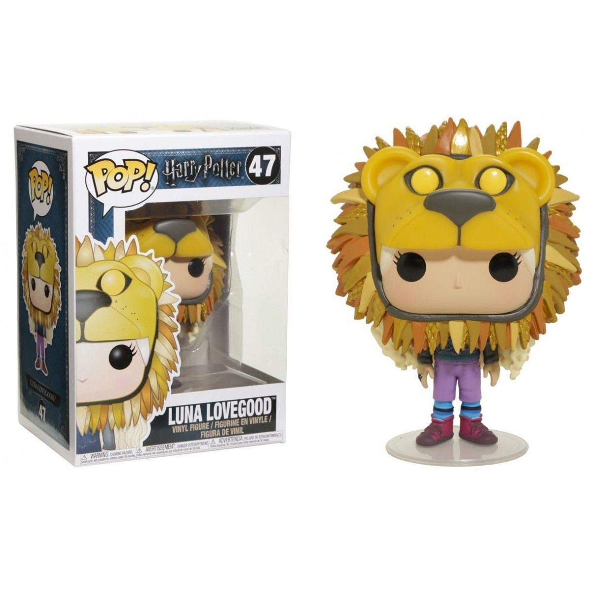 Funko POP - Harry Potter - Luna Lovegood With Lion Head