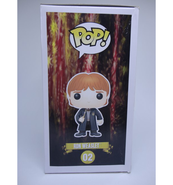 Funko POP Harry Potter Ron Weasley (Caixa Amassada)