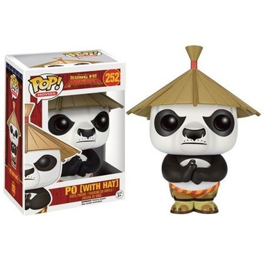 Funko POP Kung Fu Panda - Po Com Chapéu