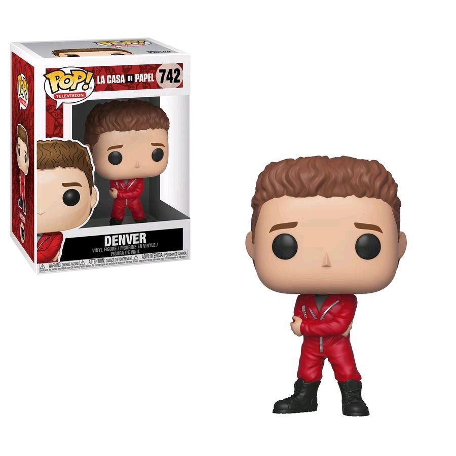 Funko Pop - La Casa de Papel - Denver