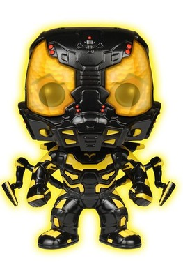 Funko POP Movies: Ant-Man Glow in The Dark Yellow Jacket Action Figure [Amazon Exclusive]