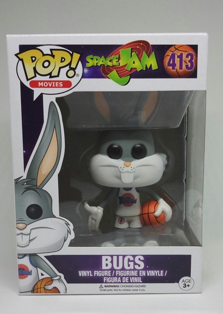 Funko POP Space Jam - Bugs (Caixa amassada)