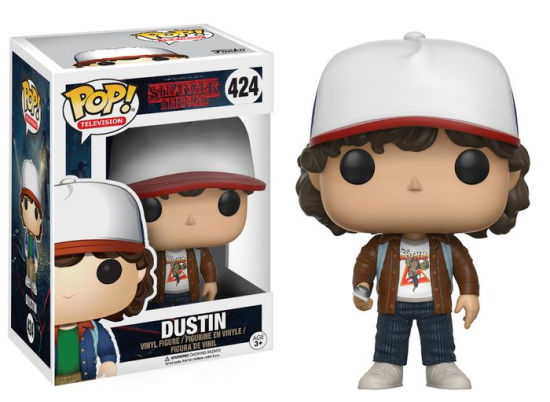 FUNKO POP - Stranger Things- Dustin - Exclusivo - Barnes & Noble