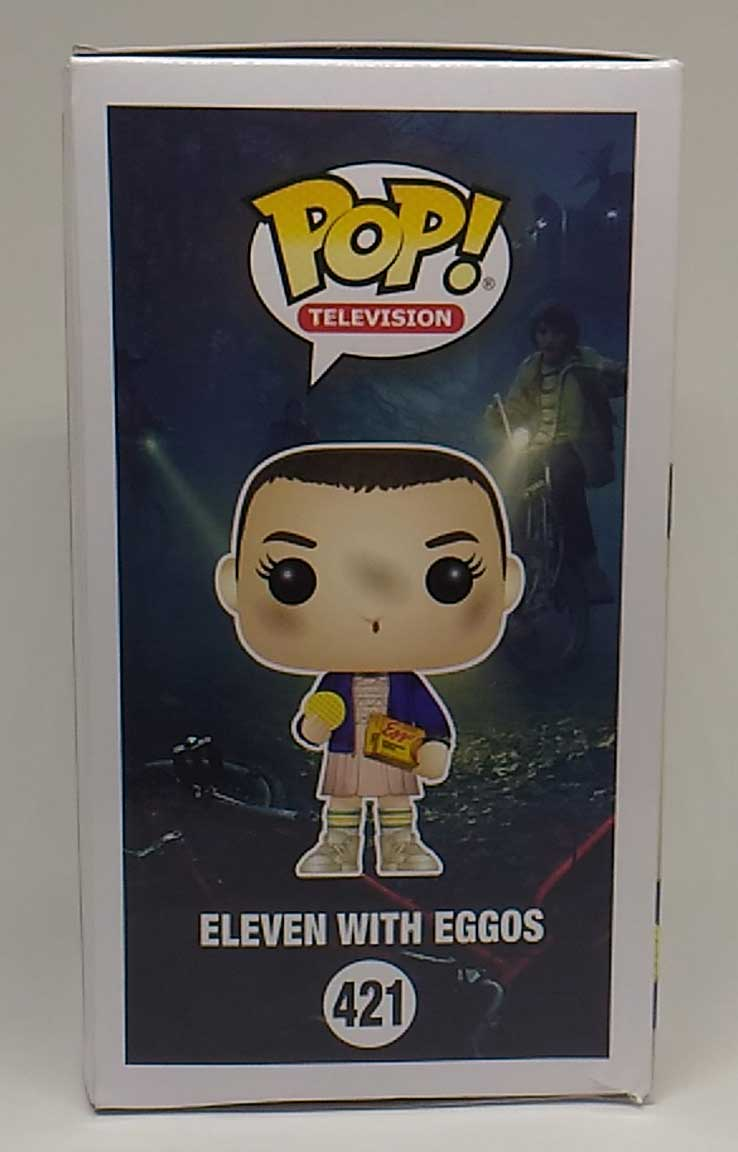 Funko POP Stranger Things Eleven with Eggos (Caixa Amassada)
