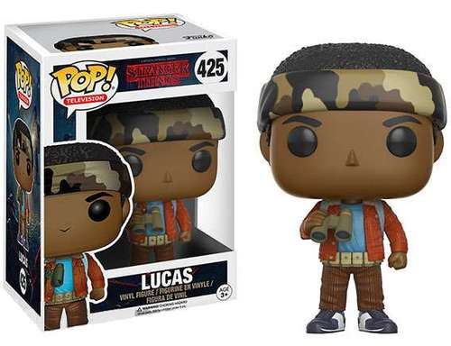 Funko POP!  Stranger Things  Lucas Sinclair