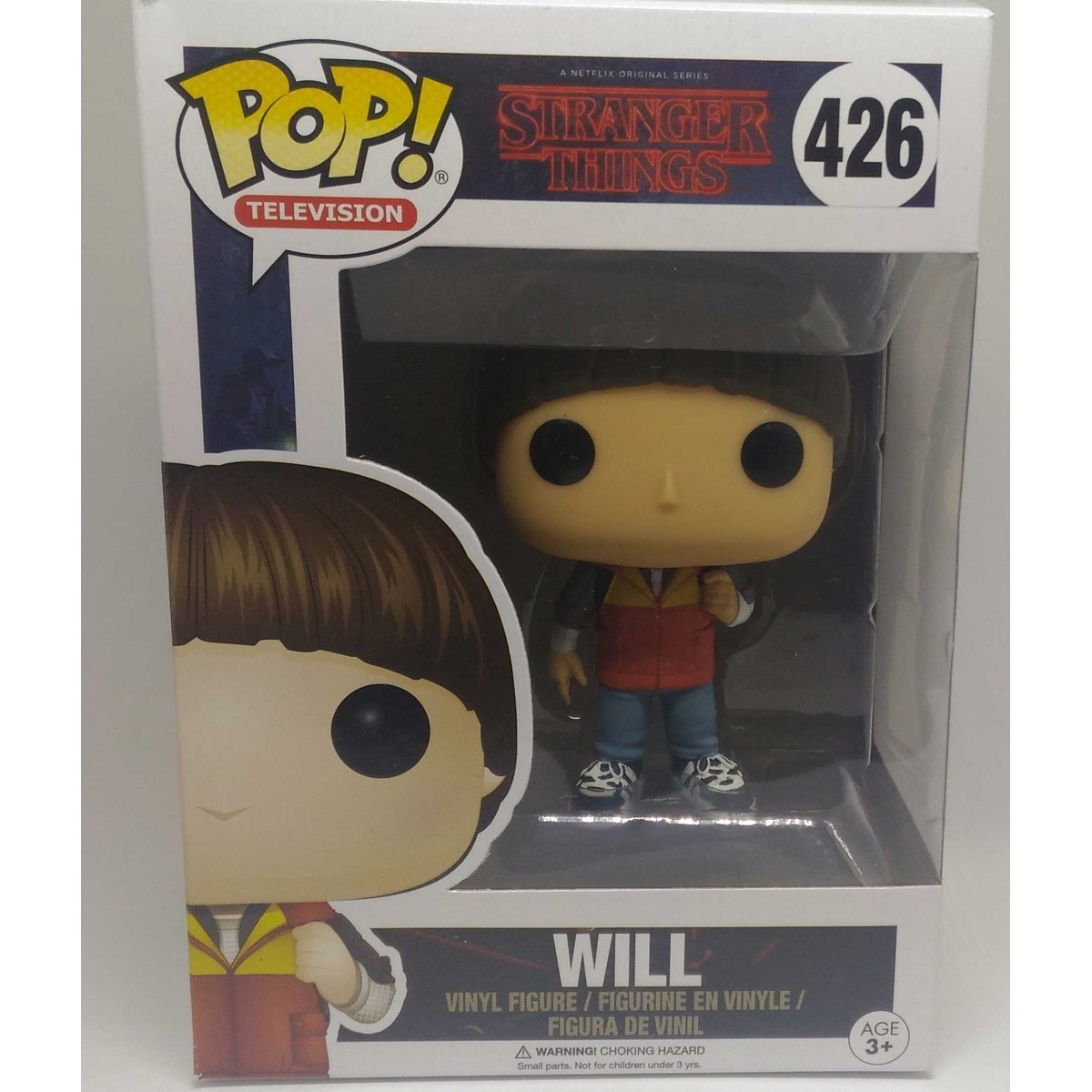 Funko Pop Stranger Things Will (Caixa Amassada)