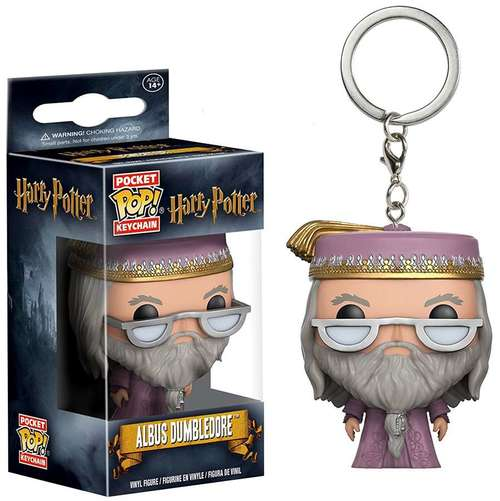 Harry Potter - Albus Dumbledore Funko Pocket Pop! Keychain