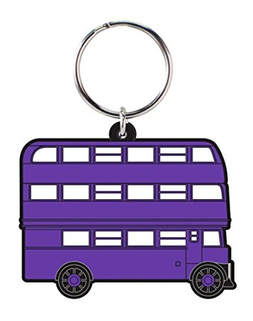 Harry Potter - Knight Bus - Rubber Keychain (Chaveiro)