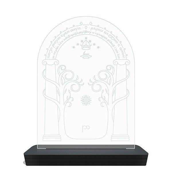 Luminária de LED Senhor dos Anéis - Fale Amigo e Entre