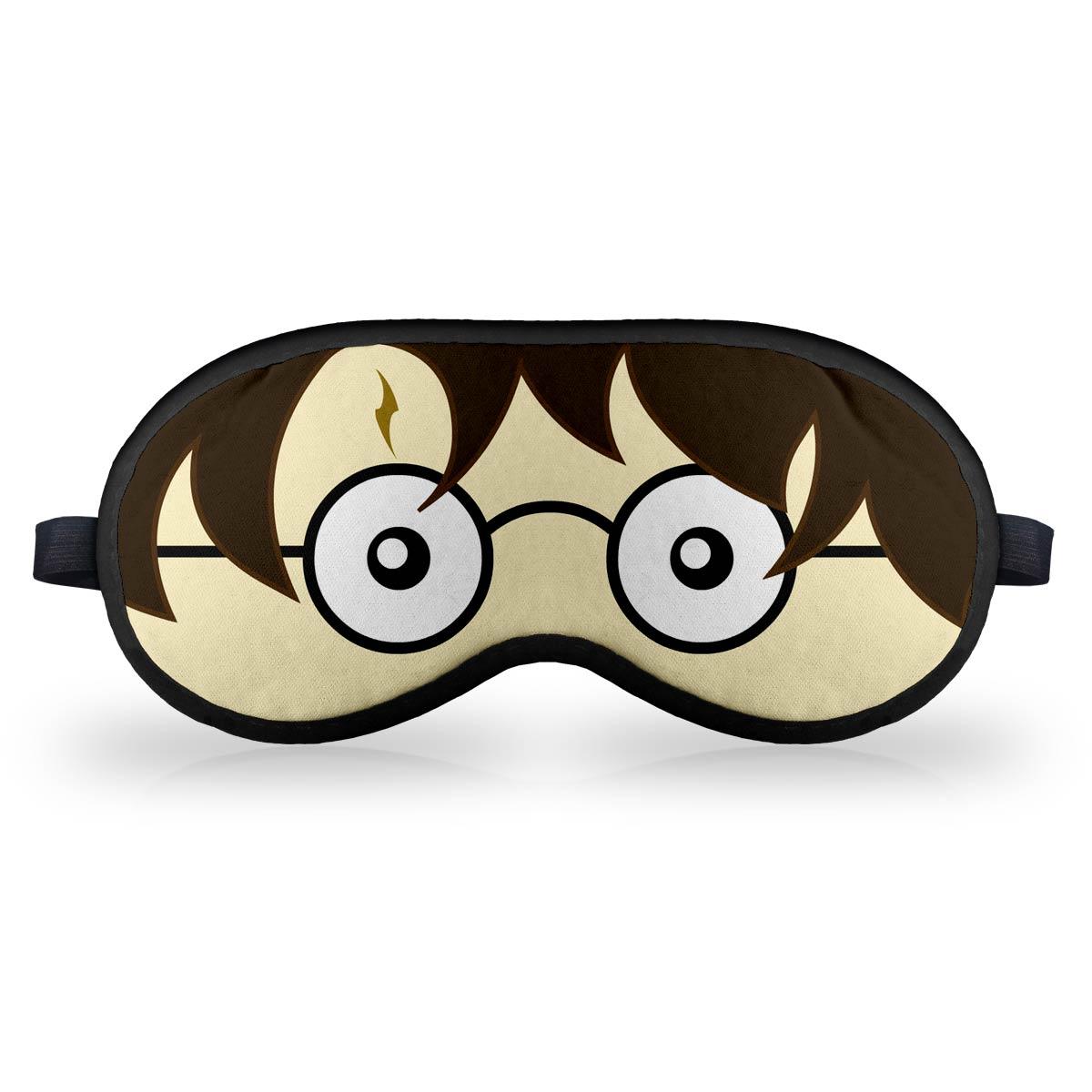 Máscara de Dormir em neoprene Bruxinho Harry