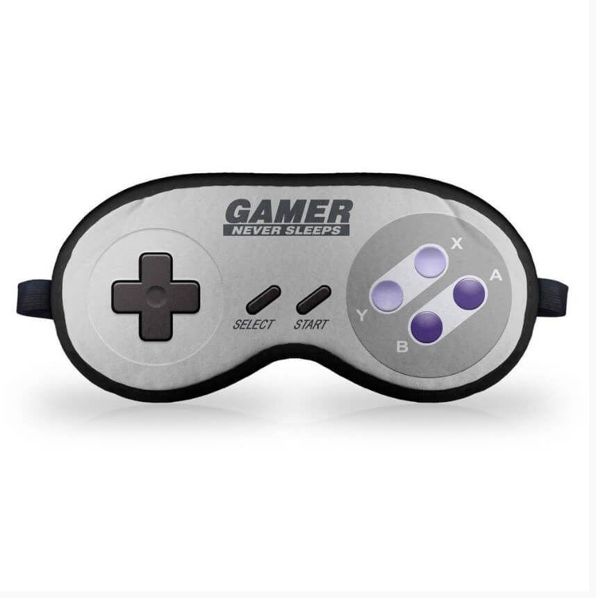 Mascara de Dormir em neoprene Gamer Joystick 16-bits