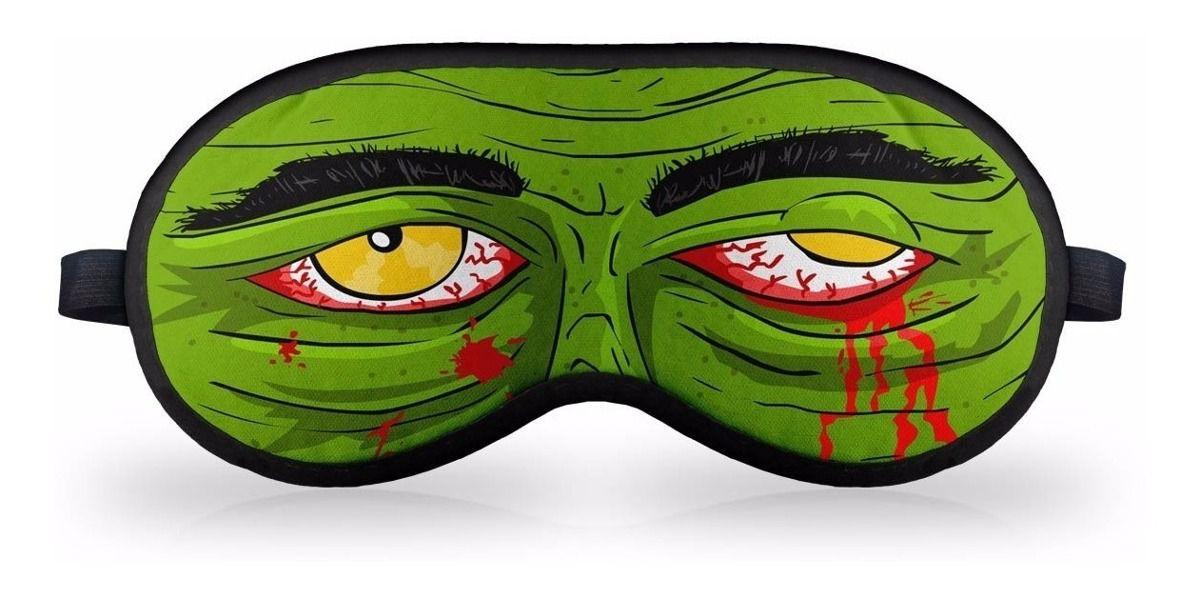 Mascara de Dormir em neoprene - Zombie Blood