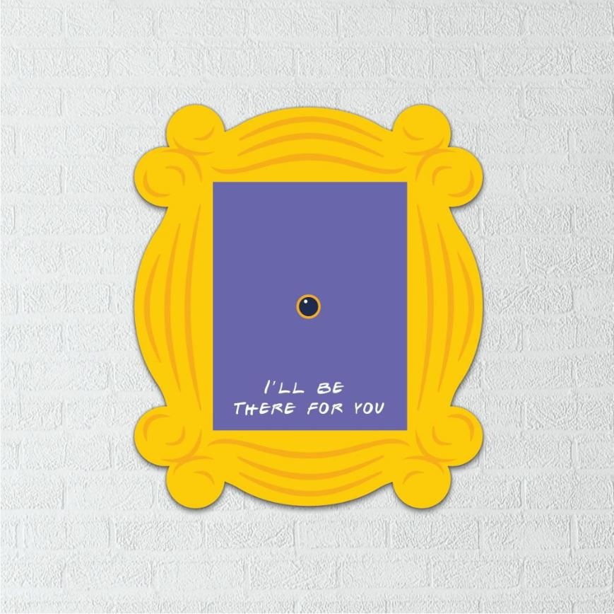 Placa Decorativa Friends (24x20)