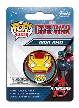 POP! Pins Iron Man - Civil War
