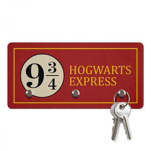 Porta Chaves Ecologico Hogwarts Express 3 Pino