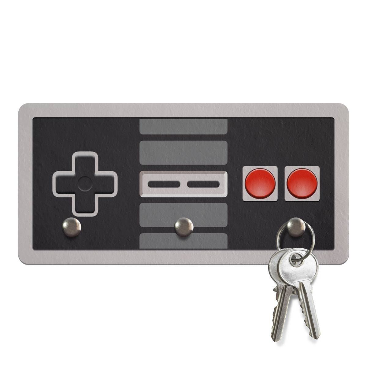 Porta Chaves Ecologico Joystick 8-Bits