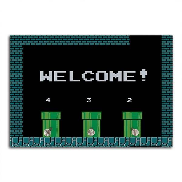 Porta Chaves Super Marios Bros - WELCOME!