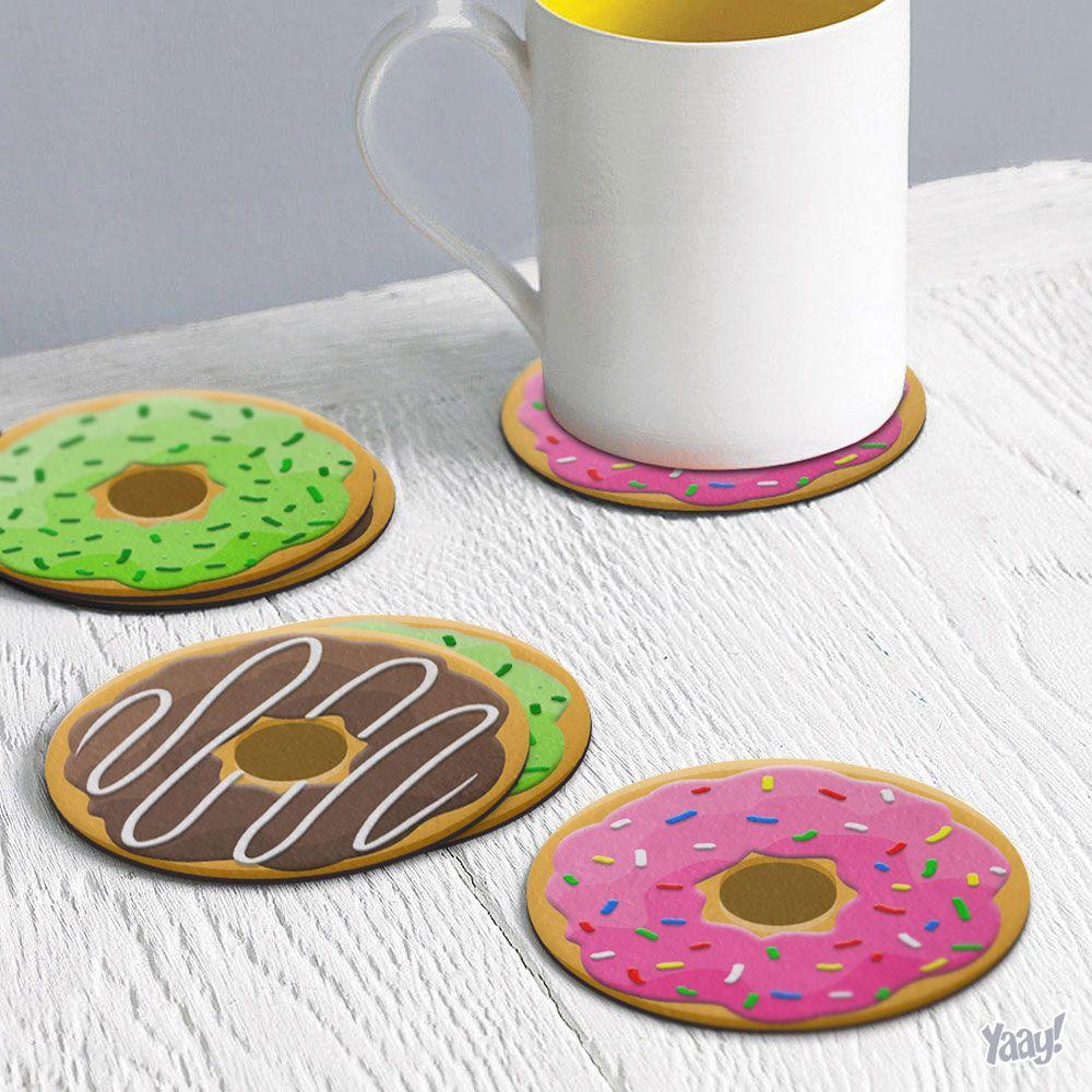 Porta Copo Ecologico ima donut Morango