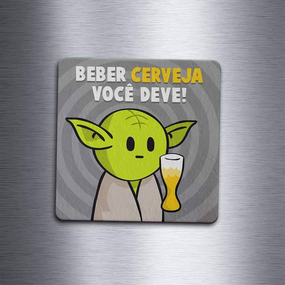 Porta Copo Ecológico Imã DrPepper MiniOda - cerveja