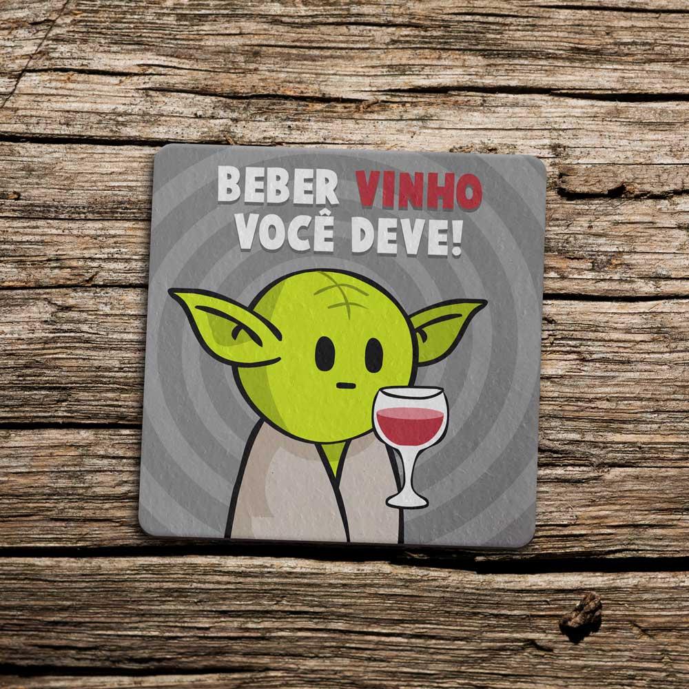 Porta Copo Ecológico Imã DrPepper MiniOda - Vinho