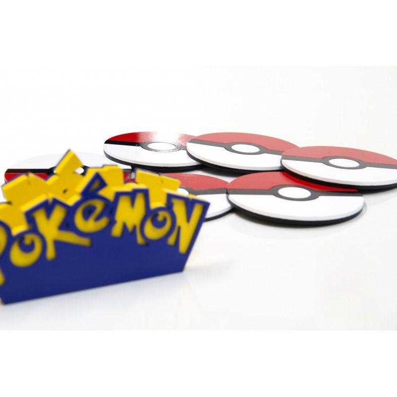 Porta Copo Pokémon MDF