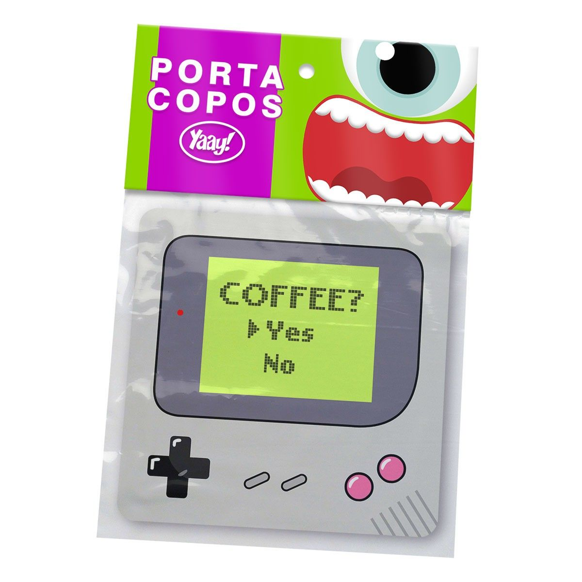 Porta Copos Gamer Boy Coffe Yes