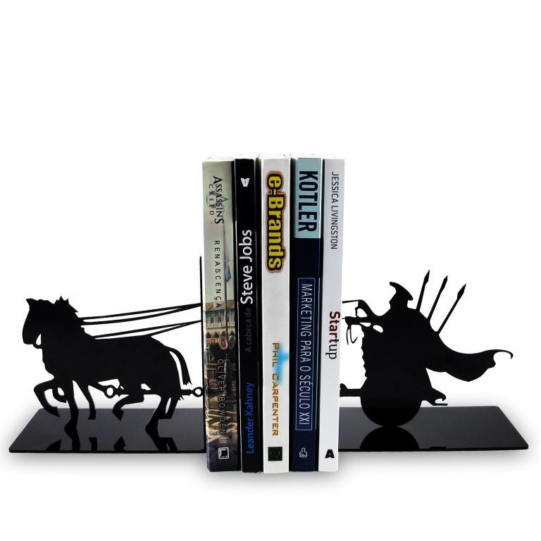 Porta Livros Cavaleiros