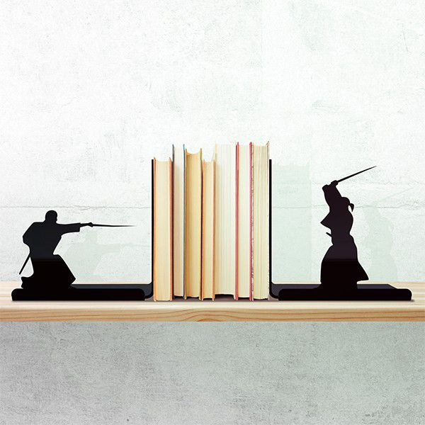Porta Livro samurai